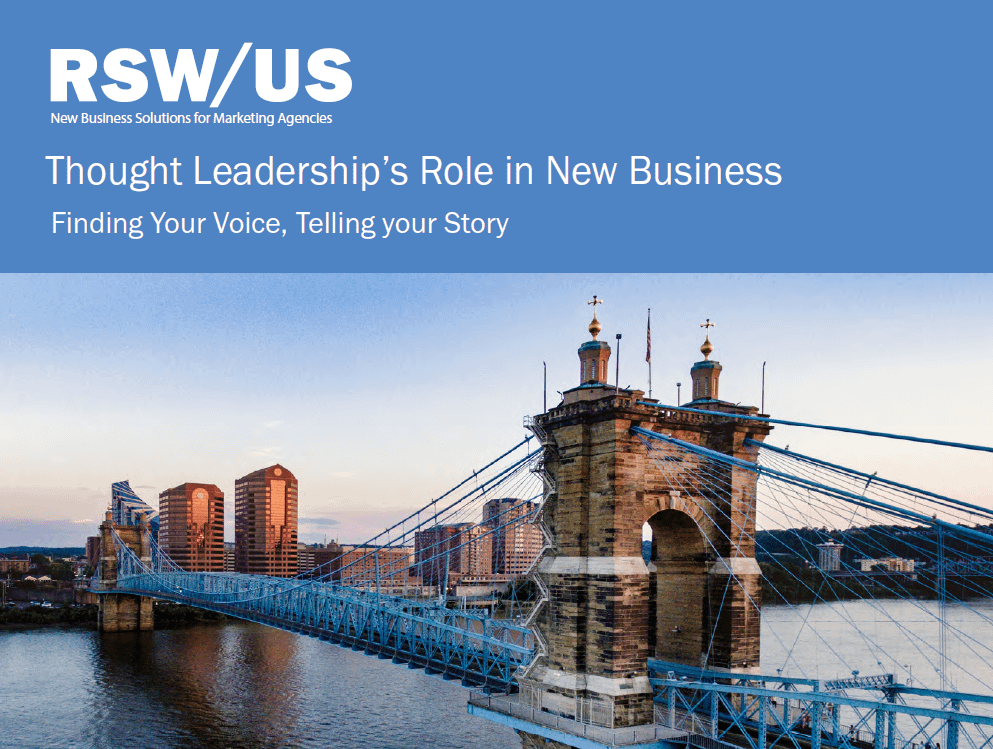 A Guide To Help Agencies Drive New Business Through Thought Leadership