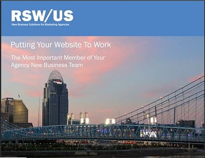 A Guide To Help Agencies Drive New Business Through Better Websites